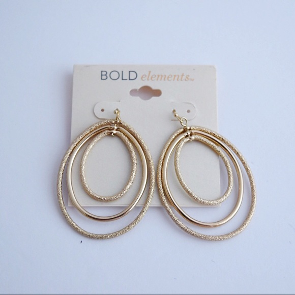 483bff480 jcpenney Jewelry | 5x25 Sale Textured Multilayer Hoop Earrings ...